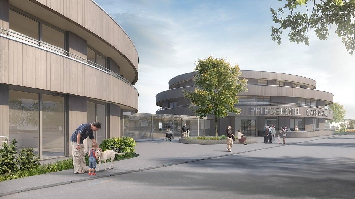Neubau Geras Pflegehotel Sutz-Lattrigen